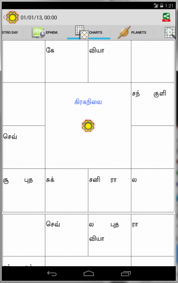 Horoscope Tamil - Supersoft Prophet- screenshot