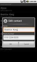 Screenshot of OneTouchCall - One Touch Call