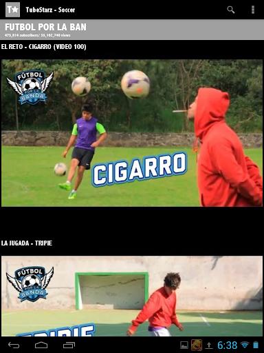 【免費娛樂App】TubeStarz - Soccer-APP點子