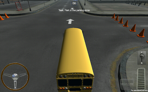 Bus City Parking 3D - screenshot thumbnail