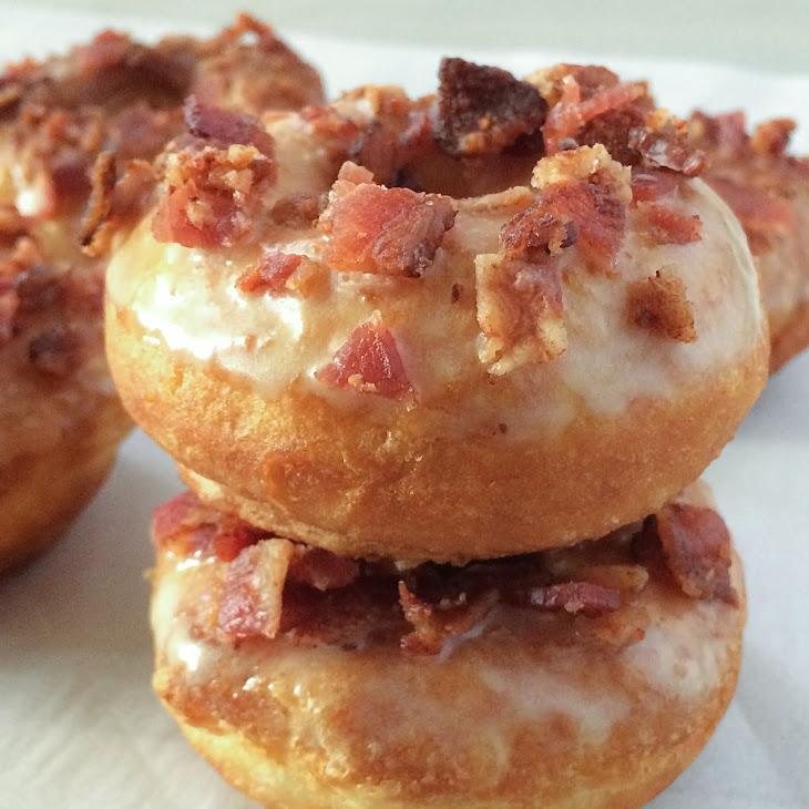 Maple & Bacon Glazed Donuts