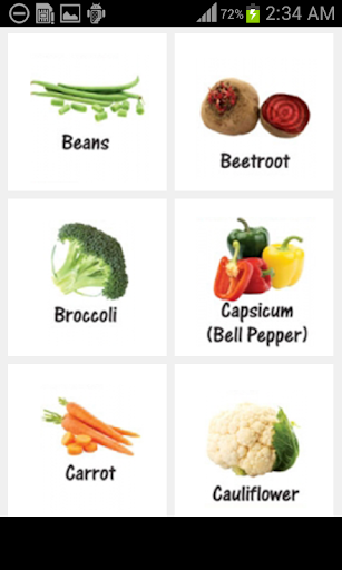 Vegetable Names