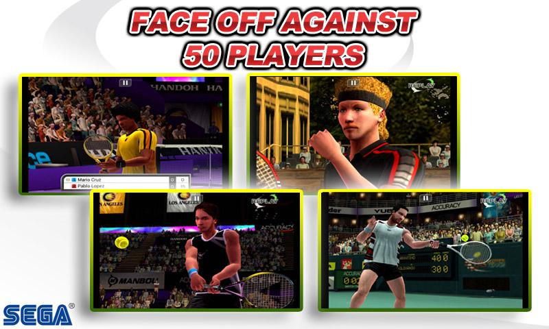 Virtua Tennis™ Challenge screenshot #3
