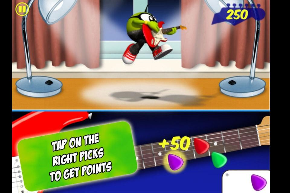 Pea Guitar Rock- screenshot