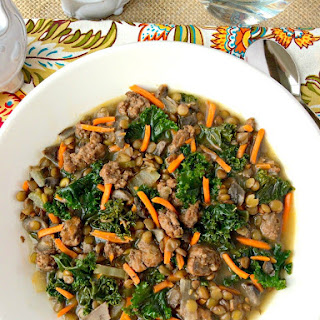 Sausage and Lentil Soup Recipe