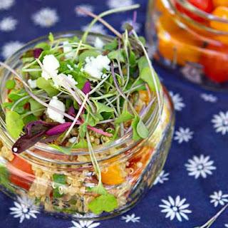 BLT-A Quinoa Salad.