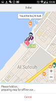 Screenshot of Dubai City Guide