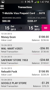 Mobile Money by T-Mobile - screenshot thumbnail