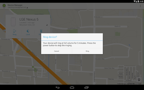 Android Device Manager Screenshot 17