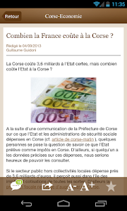 Corse Economie screenshot 2