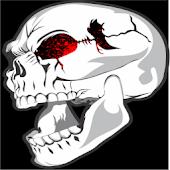 Splatter Skull Live Wallpaper