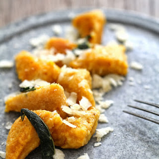Red Kuri Squash Gnocchi with Sage and Parmesan
