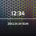 LiveWallpaper Black 4 Clock logo