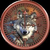 Wolf Analog Clock