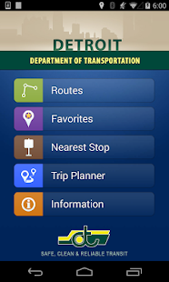 DDOT Bus App- screenshot thumbnail
