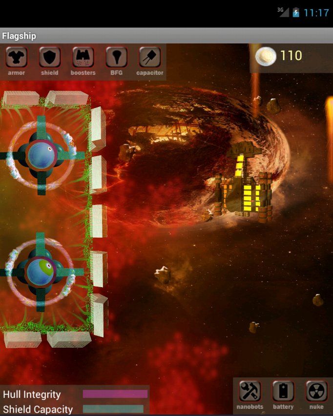 Flagship - screenshot