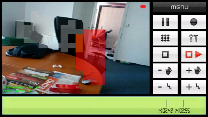 Motion Spy Camera - screenshot