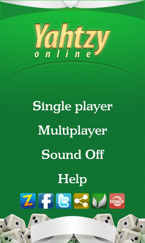Yahtzy Online- screenshot