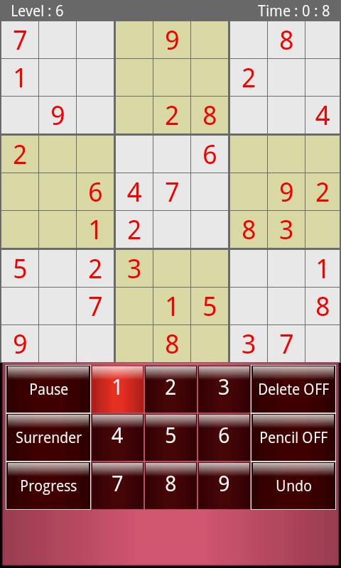 Adult Sudoku Free - screenshot