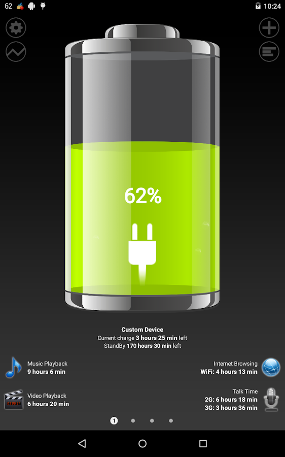 Battery HD- screenshot