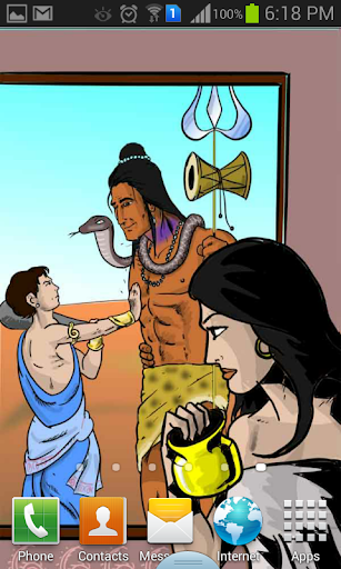 Shree Ganesh Live Wallpaper HD