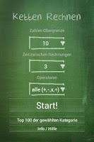 Screenshot of Ketten rechnen free