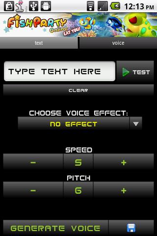 Voice Changer - screenshot