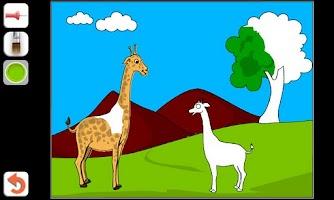 Screenshot of Kids Paint & Color
