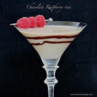 Chocolate Raspberry-tini.