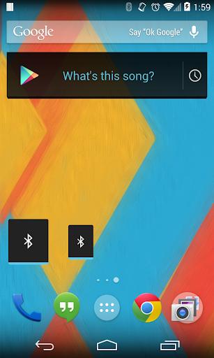 Bluetooth Widget Holo