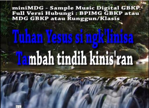 Musik Digital GBKP - MDG