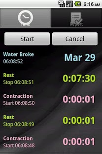 Contraction Calculator - screenshot thumbnail