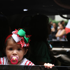 Little Mexican Girl by VAM Photography - People Street & Candids ( parade, girl, mexican, places, nyc, street and candid )