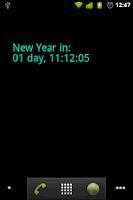 Screenshot of New Year Countdown Wallpaper