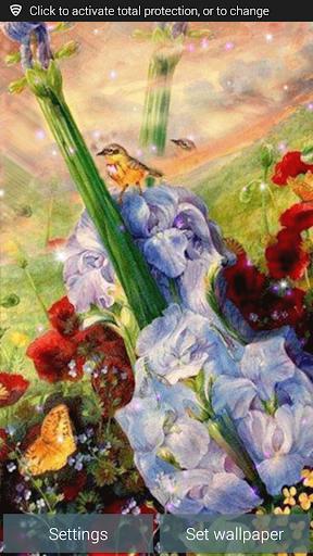 Flower Garden Guitar LWP