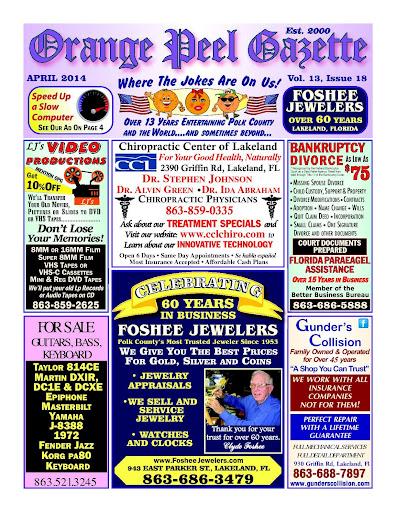 Orange Peel Gazette