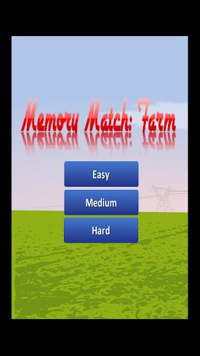 Memory Match: Farm
