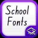 School Fonts icon