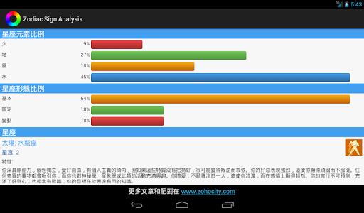 【免費生活App】星座分析-APP點子