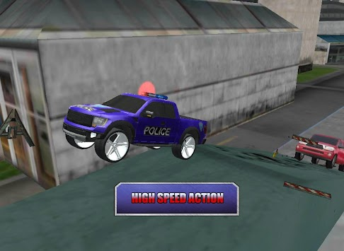 Crazy Driver Police Duty 3D APK screenshot thumbnail 8