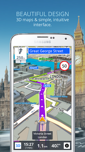 Sygic: GPS Navigation & Maps 15.4.1 APK