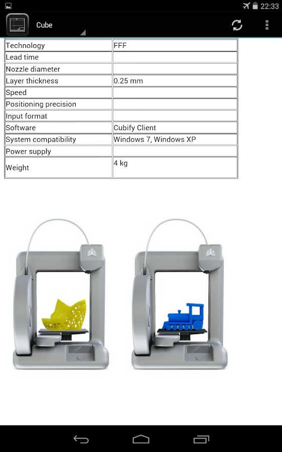 3d printers android apps on google play 3d application