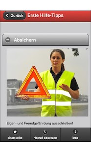 Erste-Hilfe-App- screenshot thumbnail