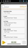 Screenshot of Meditation Timer: ZenTime Lite