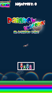 Rainbow Unicorn Rainbow Land!- screenshot thumbnail