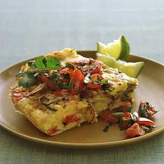 Mexican Potato Omelet.