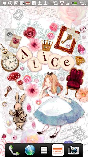 Aliceシリーズ☆Alice&Rabbit ライブ壁紙