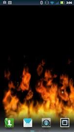 Flames Live Wallpaper (free) Screenshot 1