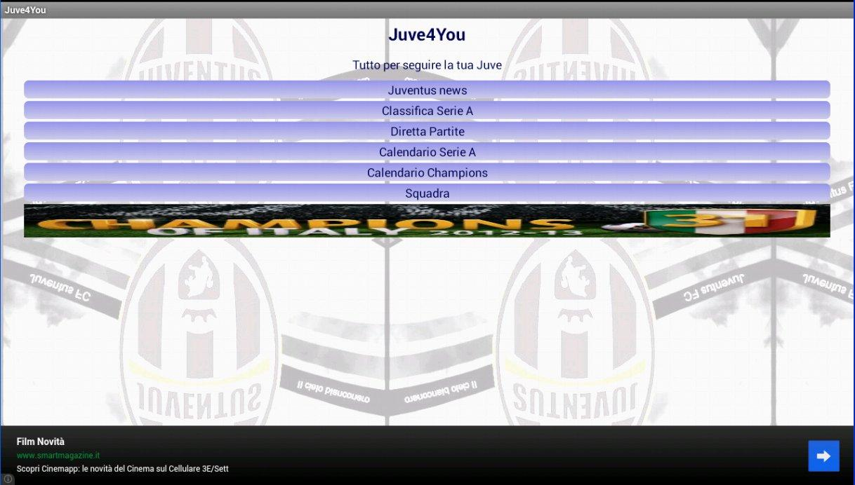 Bianconeri- screenshot