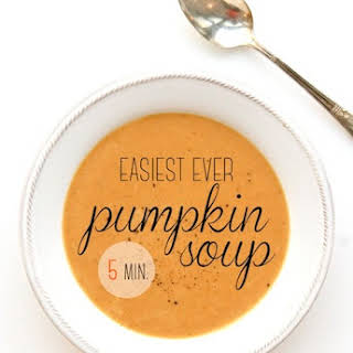 Easiest Ever Pumpkin Soup.